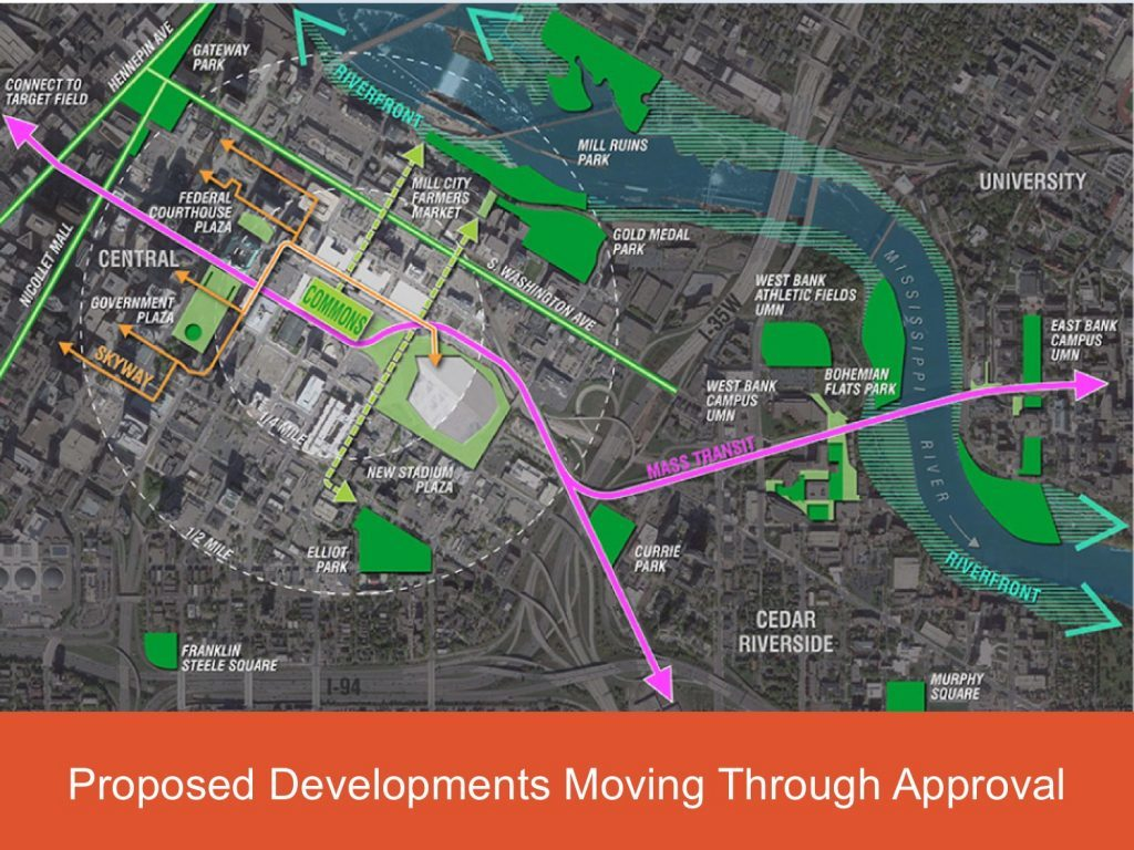 University Of Minnesota Map East Bank.Development Projects East Town Development