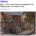 MInnPost 1972 Report on Riverfront